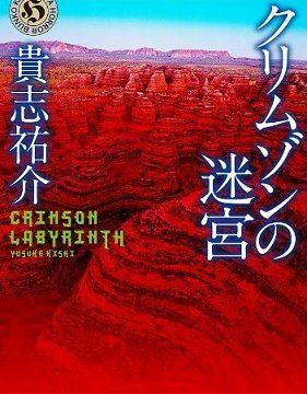 小説『クリムゾンの迷宮』表紙