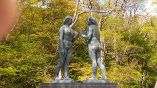 十和田湖、乙女の像