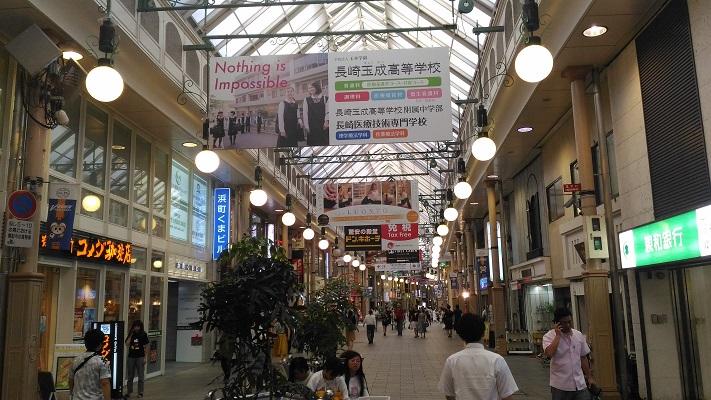 長崎アーケード街