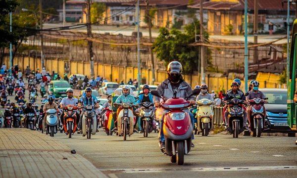 バイク、通勤