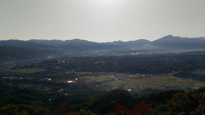 破風山山頂からの景色