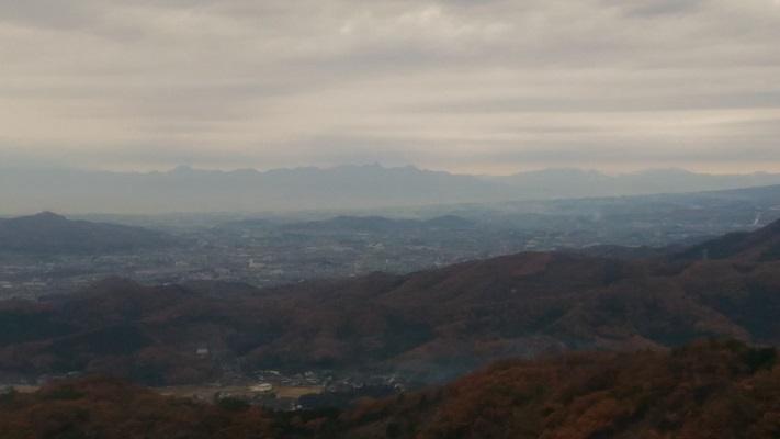 行道山からの景色