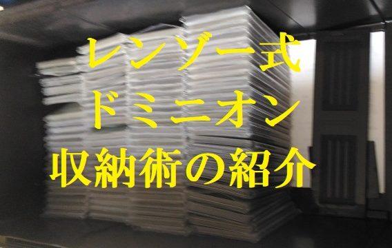 ドミニオン収納術紹介