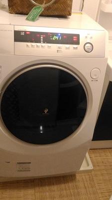 ドラム型洗濯機の性能に感動