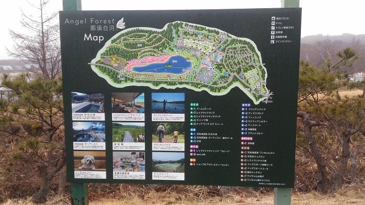 エンゼルフォレスト地図