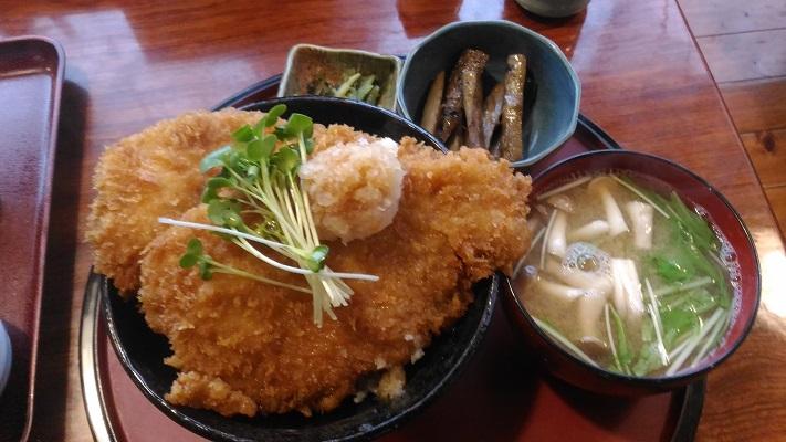 甘辛ソースのカツ丼