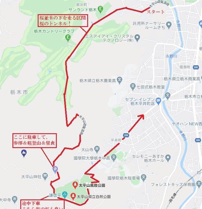 大平山観光ルート