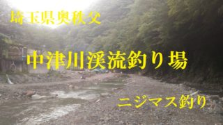 中津川渓流釣り場ロゴ