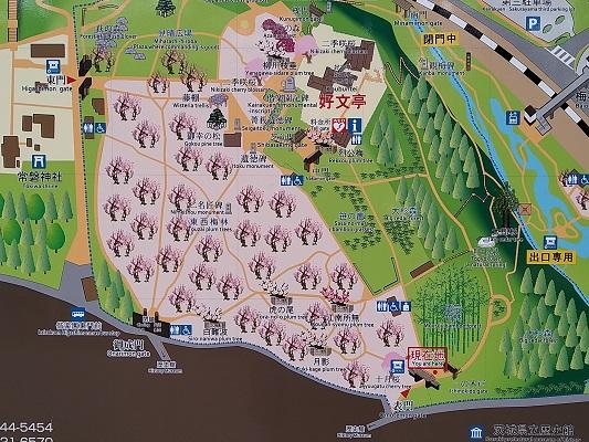 偕楽園地図