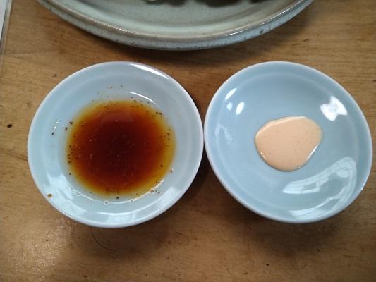 二種類のタレ