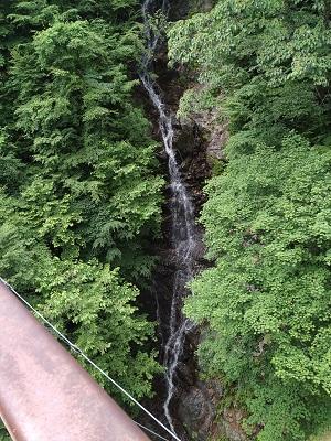 滝、落差がある