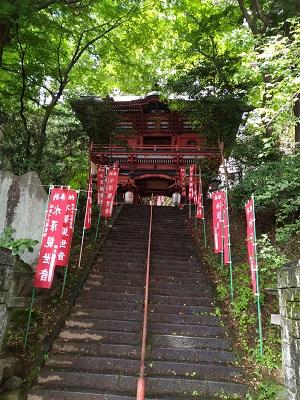水沢神社階段
