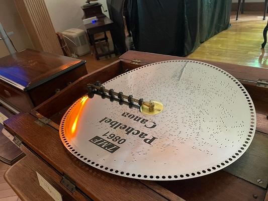円盤オルゴール
