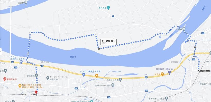 入善寺島を歩く