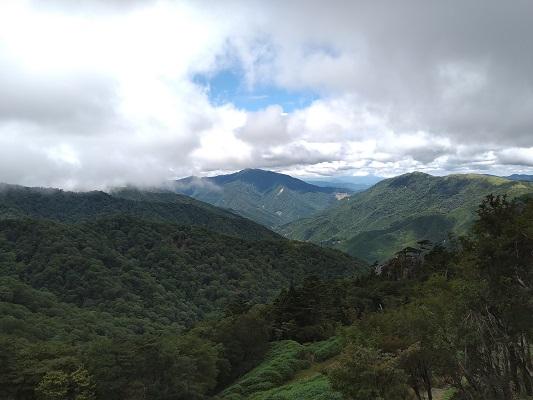 西島駅からの景色