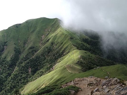 剣山の山頂